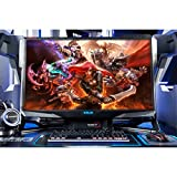E-BLUE Moniteur Ecran 32' QHD 2K 2560x1440/60Hz avec Barbone PC Gamer SCION-32 - EPC006BKAA-IU