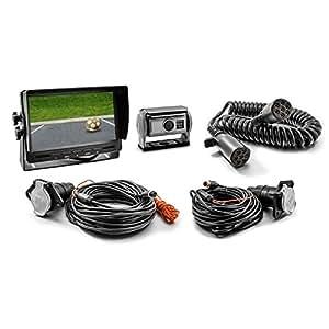 Video Sistema di retromarcia CM-SKAHRFS con Telecamera posteriore Shutter per Rimorchio, Monitor 7 pollici otturatore automatico retrovisore