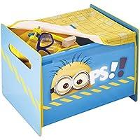 Preisvergleich für Disney Aufbewahrungsbox - Spielzeugkiste - Spielzeugbox - Cosytime Toybox mit Motivauswahl (Minions)