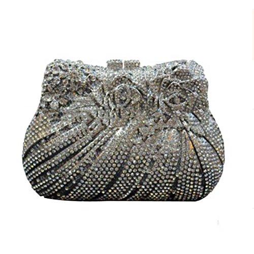 Frauen Europäischen Amerikanischen Luxus Und Der Silver Handtasche xf1RaH