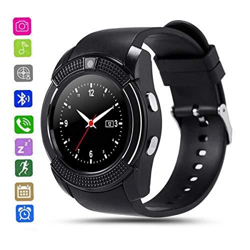 9c94f9b01228 CatShin Smartwatch Android-Reloj Inteligente Mujer Hombre CS05 con Ranura  para Tarjeta SIM TF