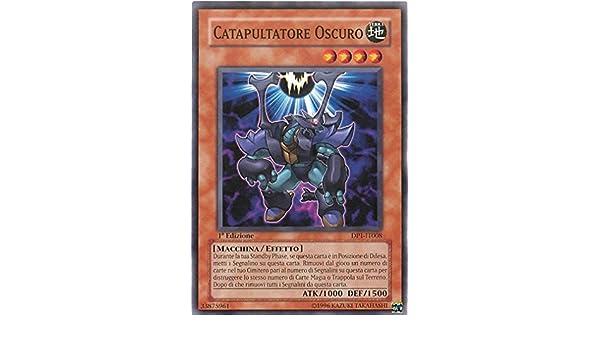 Yu-Gi-Oh! Catapultatore Oscuro DP1-IT008 Comune Jaden Yuki Unlimited Edition