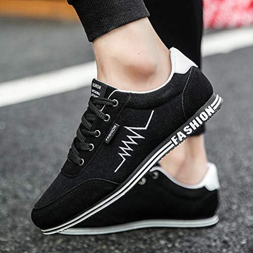 NANXIEHO Men Leisure Classic Canvas scarpe Men Trend Student Student Student Flat scarpe da ginnastica B07GT1ZYFV Parent | ecologico  | Sconto  4eb346