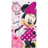 Hallmark Minnie Mouse 1st Birthday Card 'Oh My' - Medium
