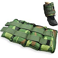 Senshi Japan CAMO 8KG (2 x 4KG) Ankle & Wrist Weights- Perfect Ankle Weights For Running, Hiking, Walking, etc. - Built With Supreme Senshi Breathable Padding For Sweat Free Use! - COMES WITH 1 YEAR WARRANTY