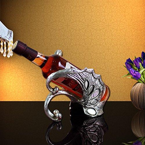 XIAOXINYUAN Moon Boot Red Wine Rack Weinschrank Dekoration Weinflasche Rack Iron Wine Rack Home Decoration Wine Rack.