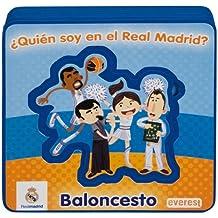 ¿Quién soy en el Real Madrid? BALONCESTO: Libro de espuma con pieza extraíbles (Real Madrid / Libros de espuma)