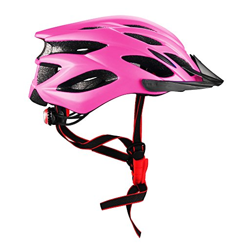 Dazonyang Cascos de ciclismo (Rosa Rojo)