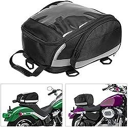 BONNIO Sac de Queue de Moto Sac Sac Sac Sac de Selle Sac de Selle Sacs de vélo multifonctionnels