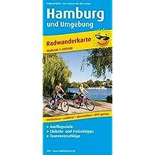 Hamburg und Umgebung: Radwanderkarte mit Ausflugszielen, Einkehr- & Freizeittipps, wetterfest, reissfest, abwischbar, GPS-genau. 1:100000 (Radkarte / RK)