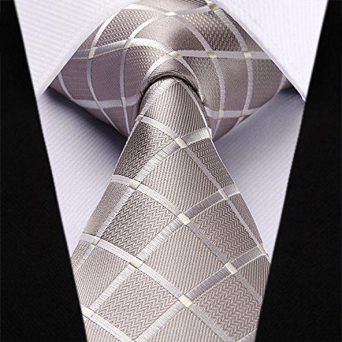 ZuverläSsig Luxus Herren Krawatte 8 Cm Paisley Plaid Striped Silk Krawatte Krawatte Jacquard Gewebte Krawatten Für Mann Formale Business Hochzeit Party Bekleidung Zubehör