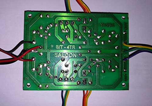 Salcon Electronics Bass Treble Board 4 Transistor Based, BT, Tone Control Amplifier Filter