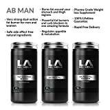 LA Muscle Abman Fast Weight Loss Supplement Collection Scientifically Engineered Fat Burners Safe for Men and Women Completely Natural Ingredients Special Amazon Price Buy Now Before Prices Go Back Up RRP £155