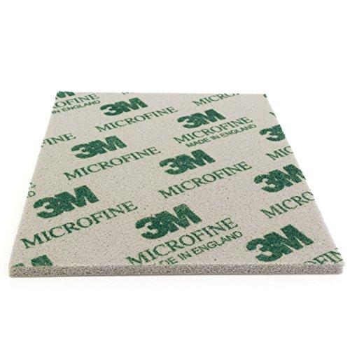 Preisvergleich Produktbild 3M Soft Pad Schleifpad Schleifschwamm 1 Stück 02600 microfine mikrofein P1500-P2200 Korn 1500