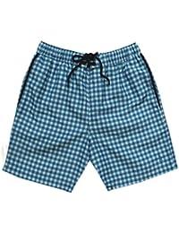 3198a27339561 Original Penguin Men's Check Swim Shorts/Swimwear with Logo