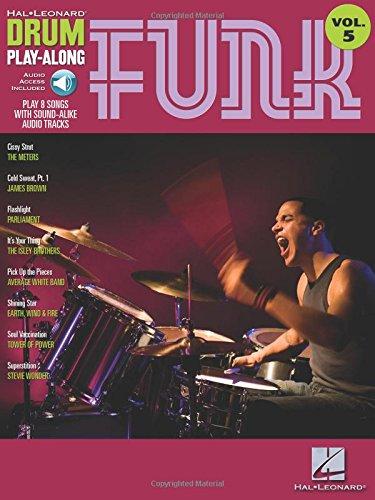 Drum Play-Along Volume 5: Funk (Hal Leonard Drum Play-Along) por Divers Auteurs