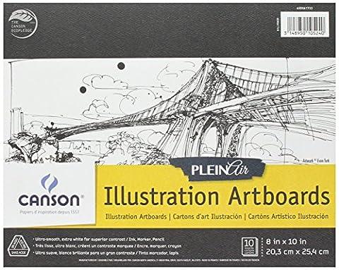 Canson Plein Air Artboard Illustration Pad 8