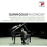 Glenn Gould Collection Vol.19 - Glenn Gould in Concert: Salzburg 1959 (Bach), Moskau 1957 (Bach), Lenningrad 1957 (Bach, Beethoven)