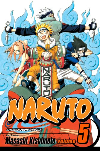 Naruto, Vol. 5: The Challengers (Naruto Graphic Novel ...