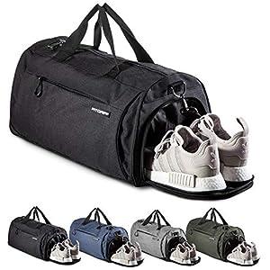 Fitgriff® Sporttasche Reisetasche mit Schuhfach & Nassfach – Männer & Frauen Fitnesstasche – Tasche für Sport, Fitness…