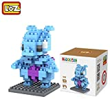 #9: Pokemon Series Diamond Building Blocks Puzzle Action Figure 3D Bricks Learning Education Toys (Mewtwo)