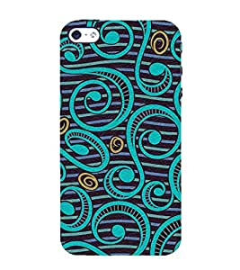 printtech Abstract Pattern Back Case Cover for Apple iPhone 4S