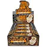 Grenade Carb Killa High Protein and Low Carb Bar, Caramel Chaos - 12 x 60 g