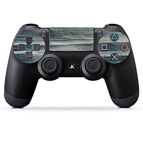 sony-playstation-4-slim-controller-ps4-folie-skin-sticker-aus-vinyl-folie-aufkleber-grauer-sandstein