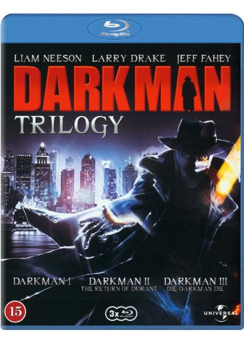 Darkman Trilogy - 3-Disc Set ( Darkman / Darkman II: The Return of Durant / Darkman III: Die Darkman Die ) ( Dark man / Dark man 2: The Return of Durant / Dark man 3: Die Darkman Die ) (Blu-Ray)