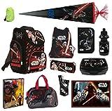 Familando Schulranzen-Set Star Wars 19-tlg. Federmappe, Sporttasche, Schultüte 85cm und Regenschutz
