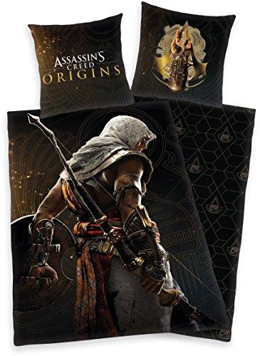 Bettwäsche Herding Assassins Creed Fotodruck Unity Game 135 x 200 cm Geschenk NEU WOW - All-In-One-Outlet-24 -