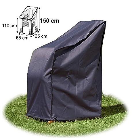 Housse / Bâche de protection de qualité supérieure pour Chaises de jardin empilables 65 x 65 x 150 cm de