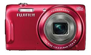 Fujifilm FinePix T500 Digital Camera - Red (16MP, 12x Optical Zoom) 2.7 inch LCD