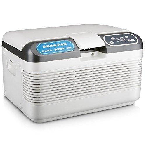 Mini Kühlschrank Kühler und Wärmer Auto Kühlschrank 12L Auto Kühlschrank Auto Dual-Core-Kühlschrank Mini Kühlschrank Bequem Gefrierschrank