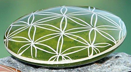 Handschmeichler Blume des Lebens, grün