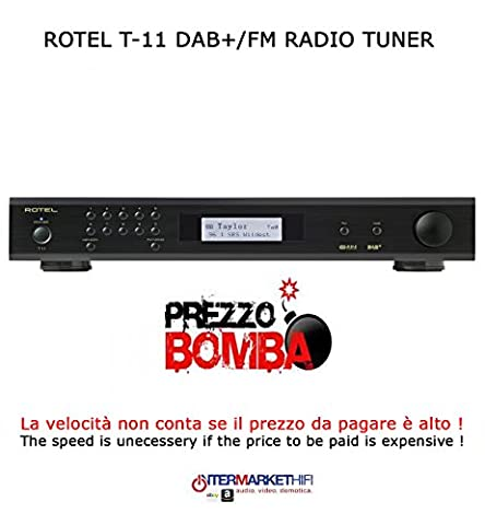 Rotel T11 Tuner Tuner DAB + FM/Stéréo RDS couleur Black