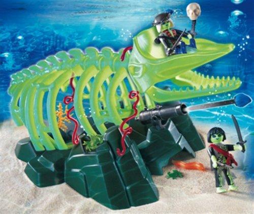Playmobil 4803 - Esqueleto de Ballena - Pirates Esqueleto ballena fantasma. Oferta antes 29,99€, Juguete A partir de 4 Años