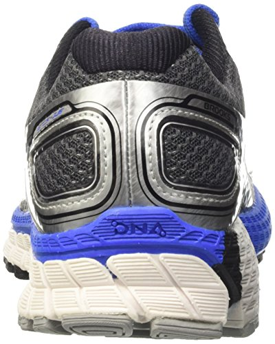 Brooks Adrenaline Gts 16, Chaussures de Running Compétition Homme Argent (Silver/Electricbrooksblue/Black)