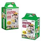 Fabtec Fujifilm Instax Mini Instant Film Pack(40 Shots)