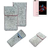 K-S-Trade® Protective Felt Case For Bluboo Dual Protective