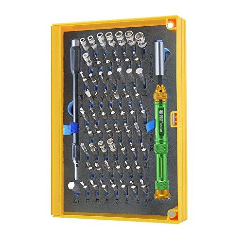 Best Tools - Feinmechanik Schraubendreher-Set, 61 Aufsätze, ideal für Montage und Reperaturen von technischen Geräten, magnetisch, professionell, torx -