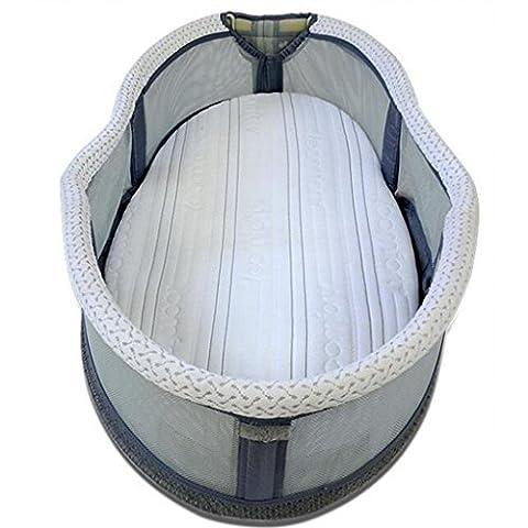 Kinderbetten Tragbare Multifunktions Krippe Baby-Sicherheits-Bett (Pferd Neugeborene Krippe)