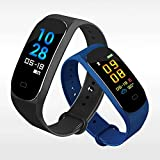 Color Screen Fitness Tracker - Activity Tracker with Heart Rate Monitor Sleep Monitor,Waterproof Smart Wrist Watch Bracelet Pedometer Wristband for Android&iOS