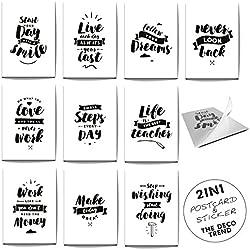 Tarjetas originales con frases