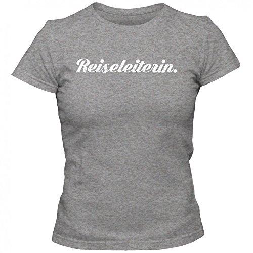 Reiseleiterin #1 T-Shirt | Berufe-Shirt | Traumberuf | Beste Reiseleiterin | Frauen | Shirt Graumeliert (Grey Melange L191)
