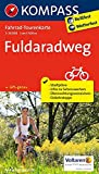 Fuldaradweg: Fahrrad-Tourenkarte. GPS-genau. 1:50000. (KOMPASS-Fahrrad-Tourenkarten, Band 7039)
