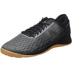 Reebok R Crossfit Nano 8.0, Zapatillas de Deporte para Hombre, Negro (Black/Alloy/Gum 000), 48.5 EU