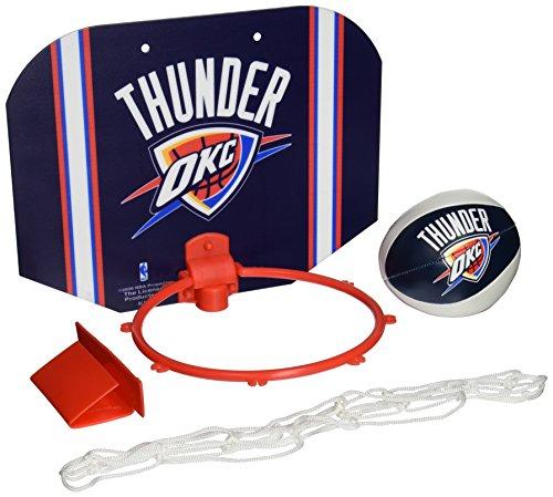 Rawlings NBA Slam Dunk Softee Hoop Set, Oklahoma City Thunder