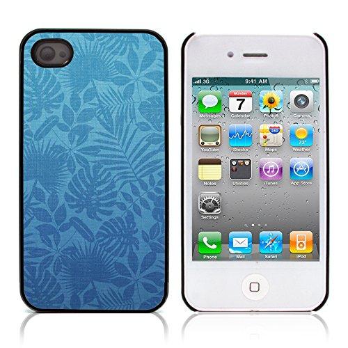 Graphic4You Grün Muster Harte Hülle Case Tasche Schutzhülle für APPLE IPHONE 4 und 4S Design #13