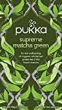 Pukka Supreme Matcha Green Tea Bags - Organic & Fair Oothu, Sencha
